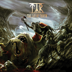 "Tyr - ""The Lay of Thrym"" CD cover image"
