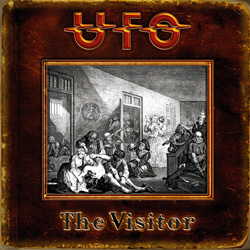 "UFO - ""The Visitor"" CD cover image - Click to read review"