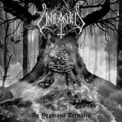 "Unleashed - ""As Yggdrasil Trembles"" CD cover image - Click to read review"