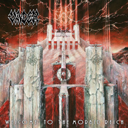 "Vader - ""Welcome To The Morbid Reich"" CD cover image - Click to read review"
