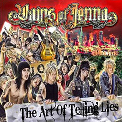 "Vains of Jenna - ""The Art Of Telling Lies"" CD cover image - Click to read review"