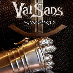 "ValSans - ""Sword"" CD cover image - Click to read review"