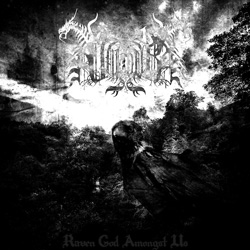 "Valdur - ""Raven God Amongst Us"" CD cover image - Click to read review"