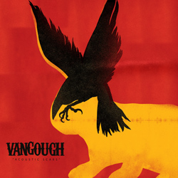 "Vangough - ""Acoustic Scars"" CD/EP cover image - Click to read review"