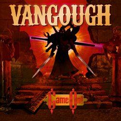 "Vangough - ""Game On"" CD cover image - Click to read review"
