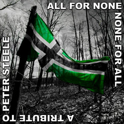 "Dark Hound - ""All For None, None For All: A Tribute to Peter Steele"" Digital LP cover image - Click to read review"