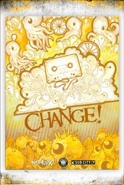 "Carrion - ""Change!"" Boxed Set cover image - Click to read review"