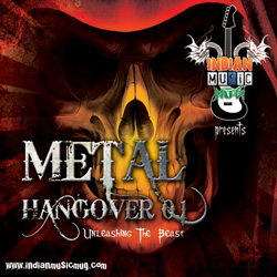 "Shades of Retribution - ""Metal Hangover 0.1 - Unleashing The Beast"" CD cover image - Click to read review"