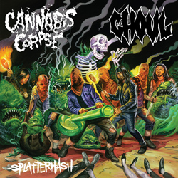 "Ghoul - ""Splatterhash"" CD cover image - Click to read review"