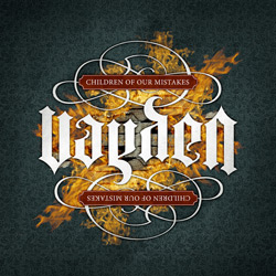 "Vayden - ""Children Of Our Mistakes (re-release)"" CD cover image"