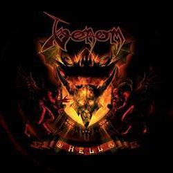 "Venom - ""Hell"" CD cover image - Click to read review"
