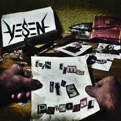 "Vesen - ""This Time it's Personal"" CD cover image"