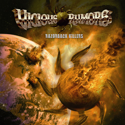 "Vicious Rumors - ""Razorback Killers"" CD cover image - Click to read review"