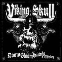 "Viking Skull - ""Doom Gloom Heartache & Whiskey"" CD cover image - Click to read review"