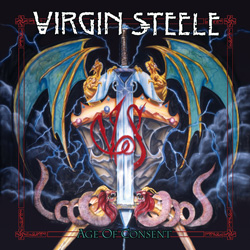 "Virgin Steele - ""Age Of Consent (re-issue)"" CD cover image"