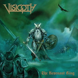 "Visigoth - ""The Revenant King"" CD cover image"