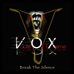 "Voices Of Extreme - ""Break The Silence"" CD cover image"
