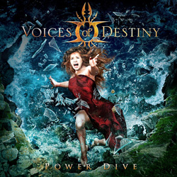 "Voices of Destiny - ""Power Dive"" CD cover image - Click to read review"