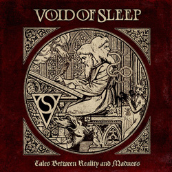 "Void of Sleep - ""Tales Between Reality and Madness"" CD cover image"