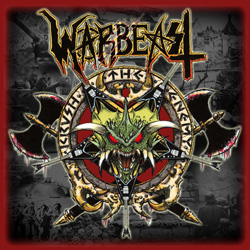 "Warbeast - ""Krush The Enemy"" CD cover image - Click to read review"