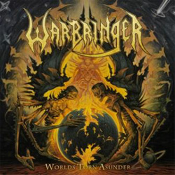 "Warbringer - ""Worlds Torn Asunder"" CD cover image - Click to read review"