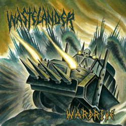 "Wastelander - ""Wardrive"" CD cover image - Click to read review"