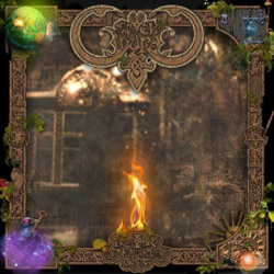 "Web of Wyrd - ""By An Image Graven An Offering Burnt"" CD cover image - Click to read review"