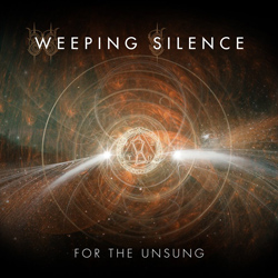 "Weeping Silence - ""For The Unsung"" CD cover image"
