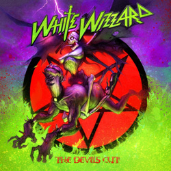"White Wizzard - ""The Devil's Cut"" CD cover image - Click to read review"