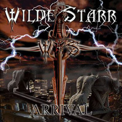 "WildeStarr - ""Arrival"" CD cover image"
