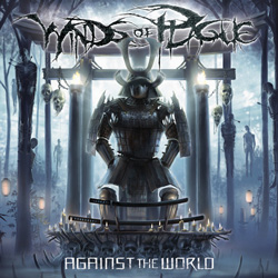 "Winds Of Plague - ""Against the World"" CD cover image - Click to read review"