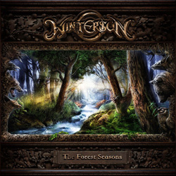 "Wintersun - ""The Forest Seasons"" CD cover image"