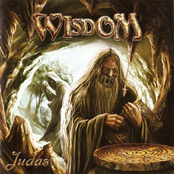 "Wisdom - ""Judas"" CD cover image - Click to read review"