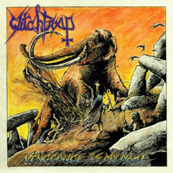 "Witchtrap - ""Vengeance is My Name"" CD cover image - Click to read review"