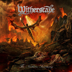 "Witherscape - ""The Northern Sanctuary"" CD cover image"