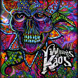 "Wizards of Kaos - ""Wizards of Kaos"" CD cover image - Click to read review"