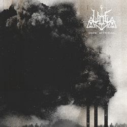 "Woe - ""Hope Attrition"" CD cover image"
