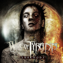 "Woe Of Tyrants - ""Threnody"" CD cover image"