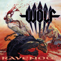"Wolf - ""Ravenous"" CD cover image"