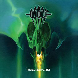"Wolf - ""The Black Flame"" CD cover image"