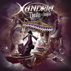 "Xandria - ""Theater of Dimensions"" CD cover image"