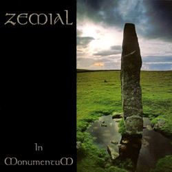 "Zemial - ""In Monumentum"" CD cover image - Click to read review"