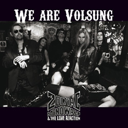 "Zodiac Mindwarp & The Love Reaction - ""We Are Volsung"" CD cover image - Click to read review"