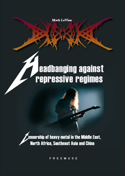 "- ""Headbanging Against Repressive Regimes"" Book cover image"