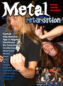 "- ""Metal Retardation"" DVD cover image"