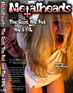 "- ""Metalheads - The Good, The Bad, The Evil"" DVD cover image"