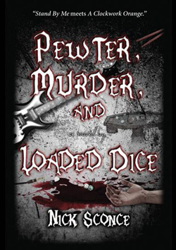 "- ""Pewter, Murder, and Loaded Dice"" Book cover image"