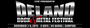 DeLand Rock & Metal Festival 2014 - Sponsored by Metalunderground.com