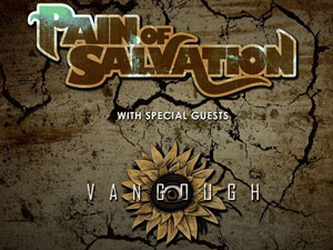 Pain of Salvation and Vangough Sponsored Tour - Sponsored by Metalunderground.com