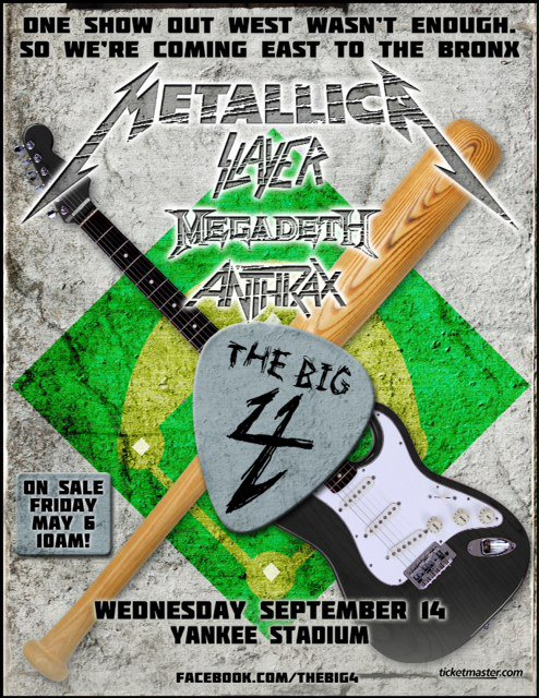 Metallica @ Bronx, New York